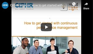 CIPHR and Head Light webinar - continuous performance management