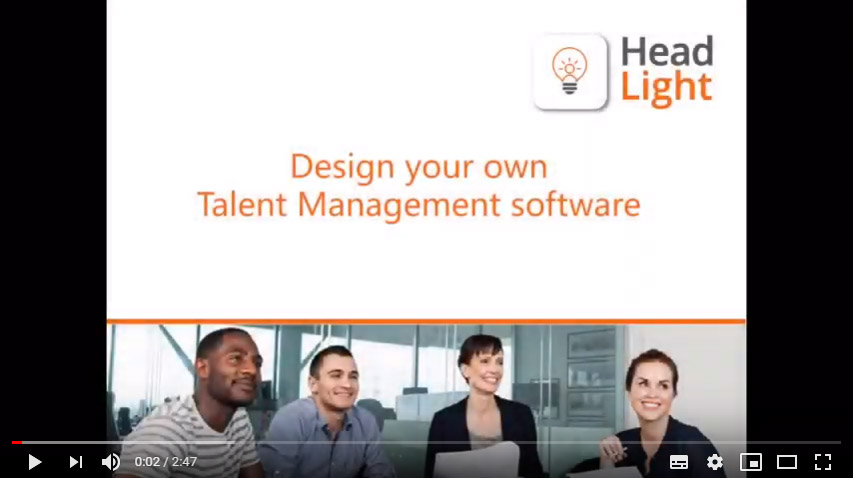 Design your own talent management software to fit with your organisation