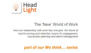 The New World of Work by Head Light